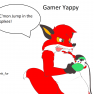 Pinkfur-yappy_video_gamer