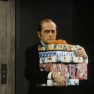Bob Newhart watches the Pawpet Show