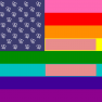 US of gAy flag