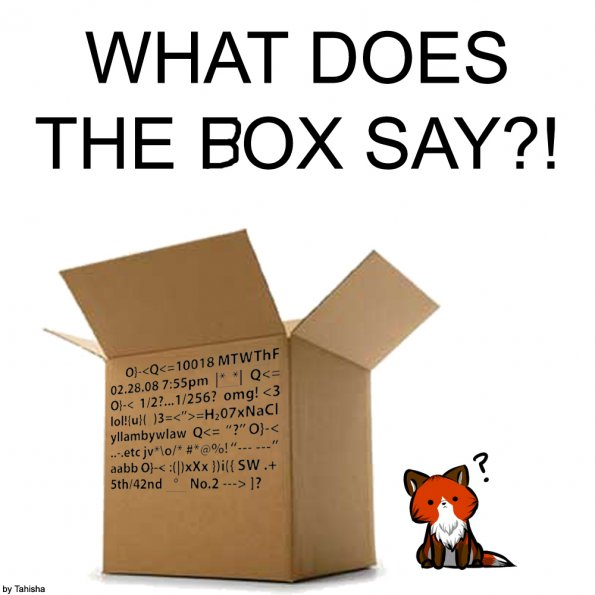 Tahisha Arvo - What Does the Box Say